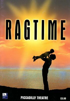 Ragtime - Piccadilly Theatre Programme (Dave Willetts/maria Friedman) Freepost