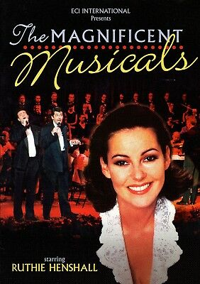 RUTHIE HENSHALL - THE MAGNIFICENT MUSICALS TOUR Programme (with TIM HOWAR)