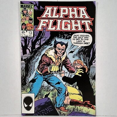 Alpha Flight - Vol. 1, No. 13 - Marvel Comics Group - August 1984 - No Reserve!