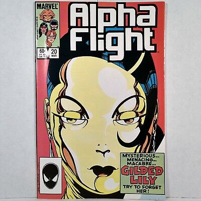 Alpha Flight - Vol. 1, No. 20 - Marvel Comics Group - March 1985 - No Reserve!