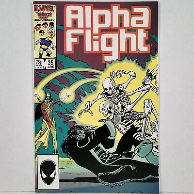 Alpha Flight - Vol. 1, No. 35 - Marvel Comics Group - June 1986 - No Reserve!