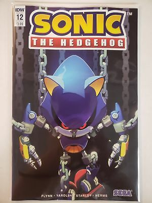 Sonic the Hedgehog #12 A Cover IDW SEGA NM Comics Book