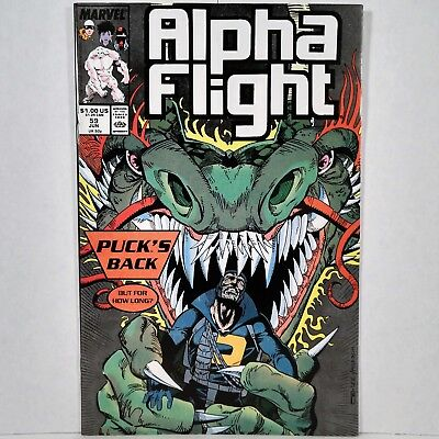 Alpha Flight - Vol. 1, No. 59 - Marvel Comics Group - June 1988 - No Reserve!