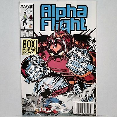 Alpha Flight - Vol. 1, No. 65 - Marvel Comics Group - Dec. 1988 - No Reserve!