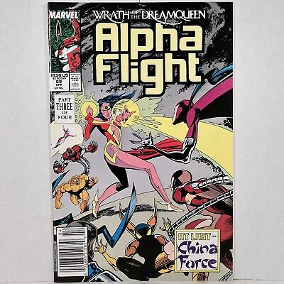 Alpha Flight - Vol. 1, No. 69 - Marvel Comics Group - Apr. 1989 - No Reserve!