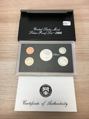 1996 United States Mint Silver Proof Set COMPLETE AC