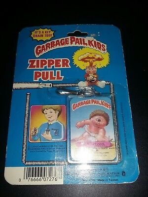 Rare 1985 Garbage Pail Kids Imperial Toy Corp Zipper Pull Sy Clops!