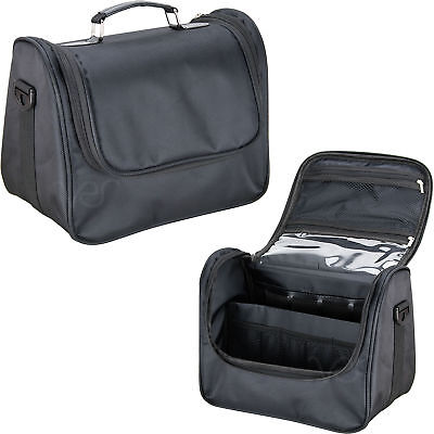 c283bf59e287 PORTABLE COSMETIC ORGANIZER,SOFT-SIDED Nylon Rolling Makeup Case ...
