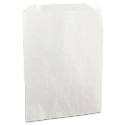 Bagcraft Grease-Resistant Sandwich Bags 6x3/4x7 1/4 White 2000/ctn 450019 NEW