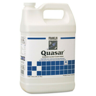 Franklin Cleaning Tech F136022 Quasar High Solids Floor Finish, Liquid 1 Gal new
