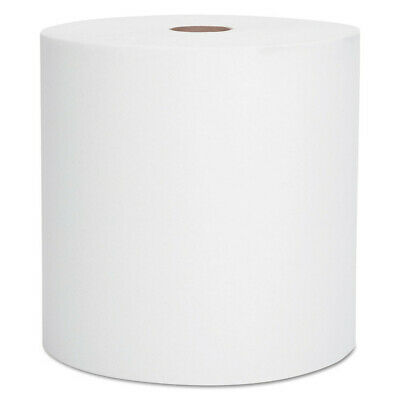 "Kimberly-Clark Hard Roll Towels, 1.5"" Core, 8 X 1000ft, White, 12 Rolls/carton"