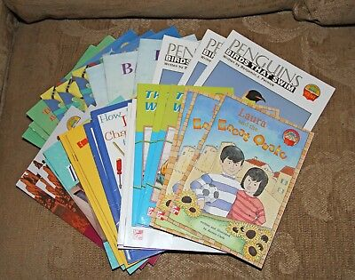 Lot of 33 Grade 4 McGraw Hill Science Readers 11 Titles 3 copies each Excellent