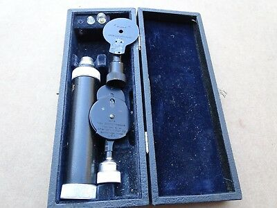 American Optical Company No. 260-A & No. 114 Ophthalmoscope In Original Box +