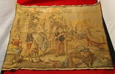 Antique Furniture Upholstery Vivid Victorian Scene