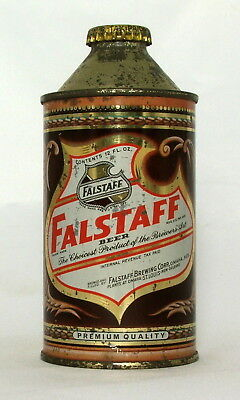 Falstaff 12 oz. IRTP Cone Top Beer Can-Omaha, Nebraska