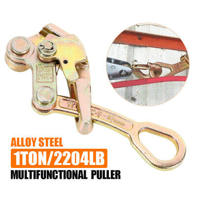 Multifunction Cable Wire Rope Grip Pulling Puller Load weight 1 Ton/2204 Lbs