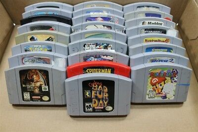 Nintendo 64 N64 Lot Of 25 Games (Discounted) - Conker's Bad Fur Day