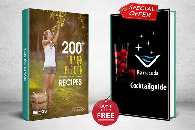 Smoothie Juice & Cocktail Recipes PDF Ebook Free Shipping Master Resell Right