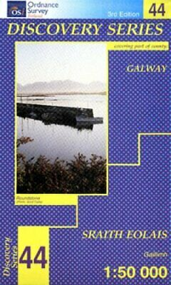 Galway (Irish Discovery Maps Series) (Ir... by Ordnance Survey Sheet map, folded