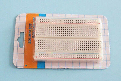 Mini Electronic ABS Components Solderless Breadboard PCB Board 400 Test Circuit