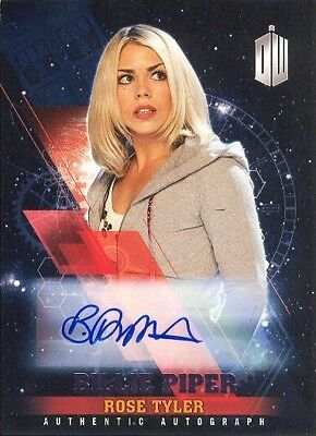 2016 Doctor Who Timeless Purple Foil Parallel Autograph Billie Piper Rose 18/25