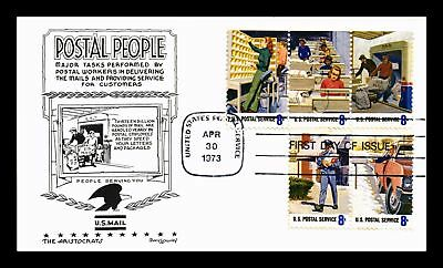 Dr Jim Stamps Us Postal People Combination Aristocrats First Day Cover