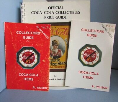 BOOK 1982 Coca-Cola Collectibles Petretti Munsey Coke Guide 1988-9 Wilson