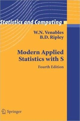 Modern Applied Statistics With S        , 9780387954578