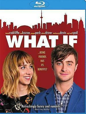What If (Blu-ray Disc, 2014) - NEW!!