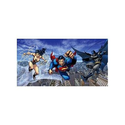 JIM LEE rare TRINITY giclee CANVAS Batman Superman Wonder Woman SIGNED huge COA
