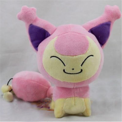 Pokemon Center Skitty Plush Doll Figure Soft Toy 7 Inch Xmas Gift