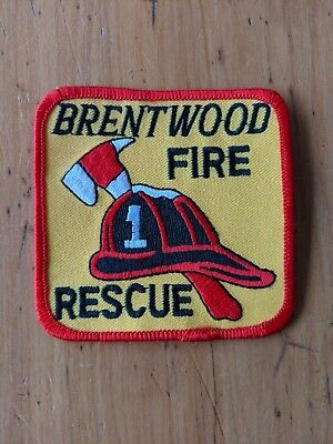 Brentwood Fire Rescue - Cloth Patch