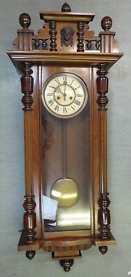 Vintage/Antique Gustav Becker Large Chiming Wall Clock