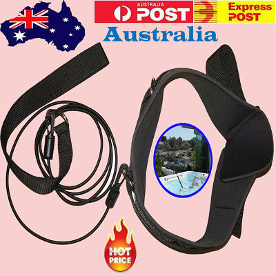 STRONG Swim Bungee Training Belt Swimming Resistance Safe Leash Exerciser Tether