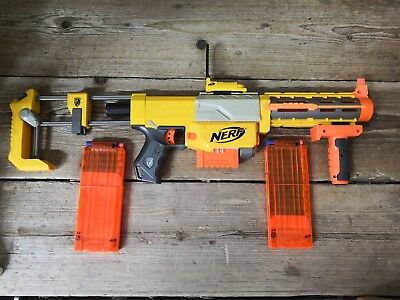 Large Heavy Duty Nerf N-Strike Recon CS-6 + Attachments Outdoor Toy #14B