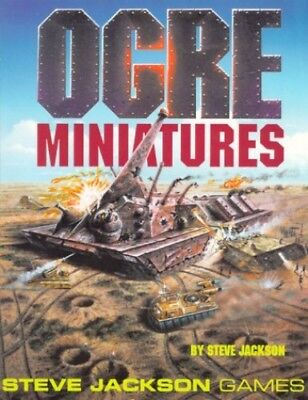 Ogre Miniatures Rules by Jackson, Steve Paperback Book The Cheap Fast Free Post