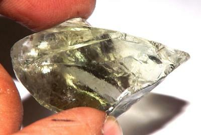 Green Amethyst Prasiolite 38 X 25 mm 65.40 ct Natural Gem Rough Specimen #rga36