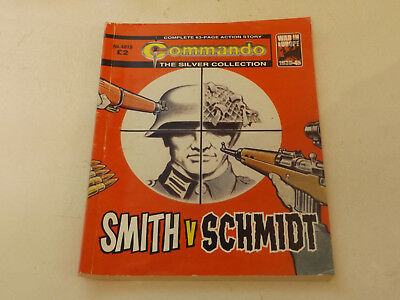 Commando War Comic Number 4818,2015 Issue,v Good For Age,04 Years Old,very Rare.