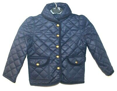 Polo Ralph Lauren Kids Children Girls Shawl Quilted Barn Jacket Coat 3 years F51