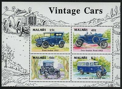 Malawi 1990 - Mi-Nr. Block 69 ** - MNH - Autos / Cars