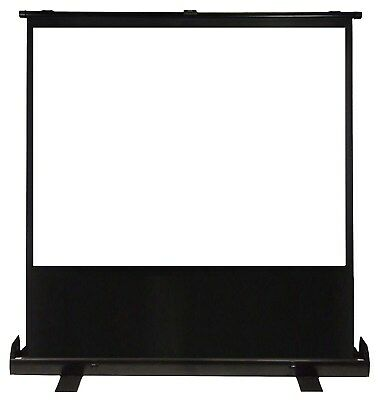 Luxburg 100-Inch 203 x 152 cm Full HD 3D Portable Floor Pull Projection Screen -