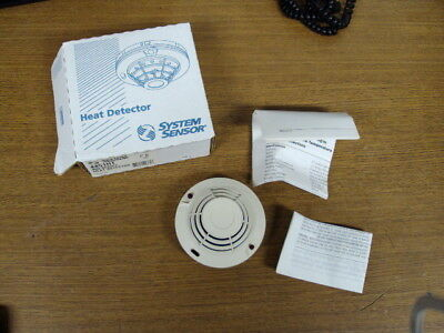 NEW System Sensor 400 Series Intermidiate Temp 190 Degree Heat Detector 4451HT