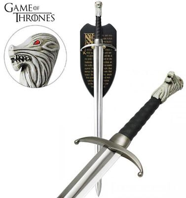 Game of Thrones Longclaw Jon Snow Sword Official HBO Licensed Prop Replica Steel