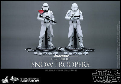 Hot Toys Star Wars EP 7 Doppelpack First Order Snowtroopers Set 2 Figuren 1/6