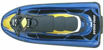 Hydro-Turf Negro Acolchado Kit para Sea-Doo Gti 4-TECH 06-08