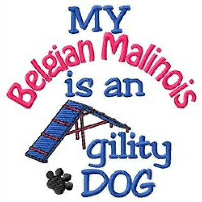 My Belgian Malinois is An Agility Dog Long-Sleeved T-Shirt DC1736L