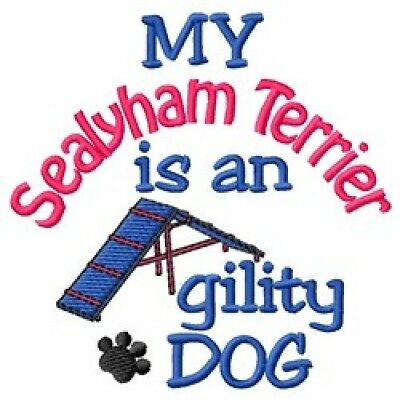 My Sealyham Terrier is An Agility Dog Long-Sleeved T-Shirt DC1976L Size S - XXL