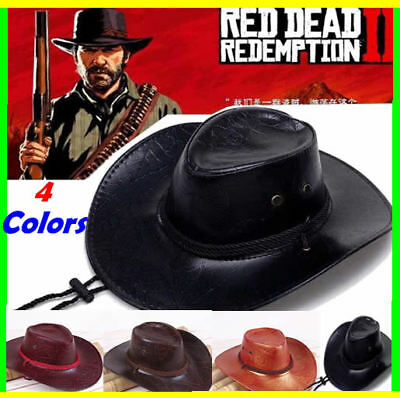 RED DEAD REDEMPTION 2 Cowboy Hat John Marston RDR2 Hat Cosplay 4 Colors