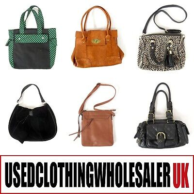 40 Women's Handbags Wholesale High Street Modern Bags Accessories Joblot
