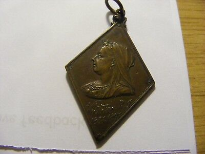 A Glasgow 1897 Queen Victoria 60th Jubilee Medal, nice condition - 50mm Long